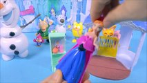 [Hiver Uni] Les pororo & Elsa Ullapool Golf Anna Palais et le Château de jouets Congelés lumière Magique du palais et du château de