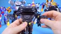 Bonjour la voiture robot robot caméra grandeur Faucon Noir de l'Édition et de l'aéroport de Reno noir jouet Hello Carbot Granduer Noir Tobot Dino Charge