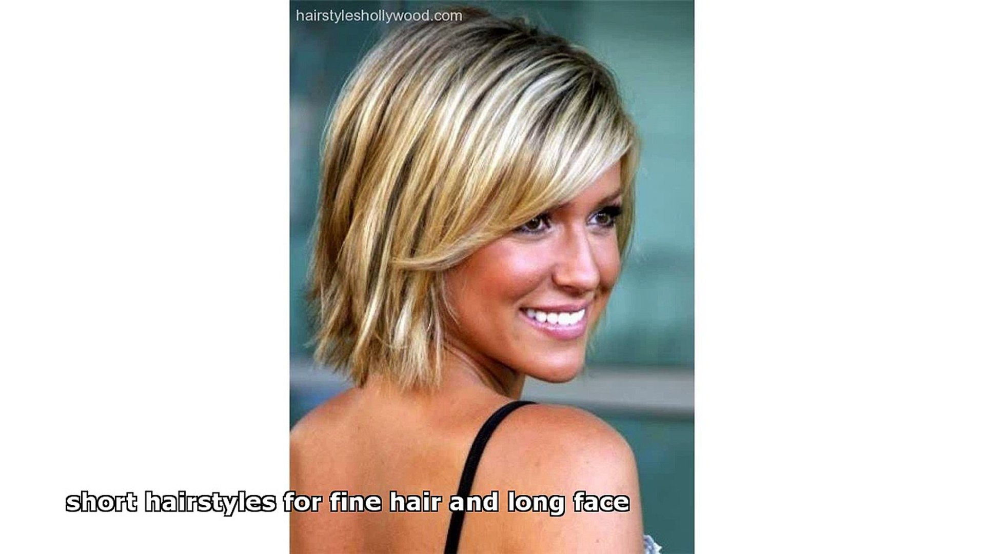 Short Hairstyles For Fine Hair And Long Face Video Dailymotion