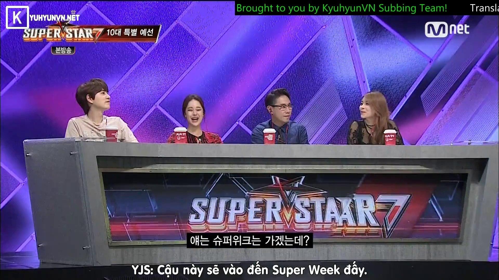 [Vietsub] 150827 SuperStarK7 - Kyuhyun cut