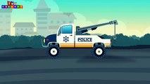 Tow trucks for children - Monster trucks for children - tow truck and repairs