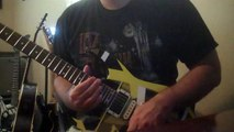 Rock Guitar Improv to Van Halen Style  E Backing track by Lefty99riffs