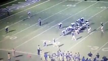 WATCH  Referee Tackled  Texas High School Football Players Intentionally Hit Ref !