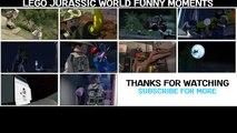 LEGO Jurassic World Funny Moments - Raptor Transfer Gone Wrong