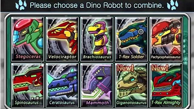 GAME NGƯỜI SIÊU NHÂN KHỦNG LONG ĐÁNH NHAU  DINO ROBOT