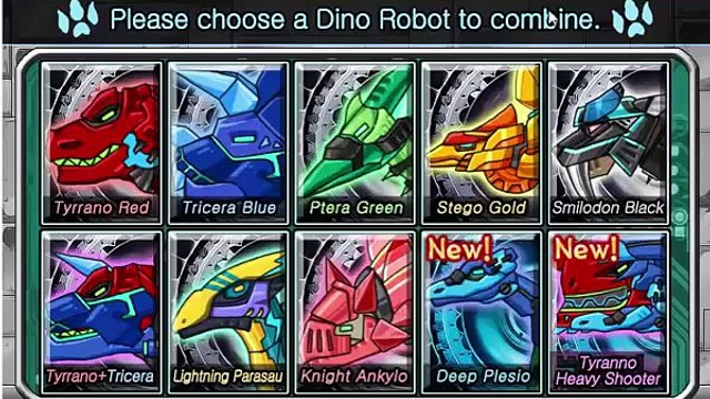GAME NGƯỜI MÁY SIÊU NHÂN; Dino Robot Dino Corps  2