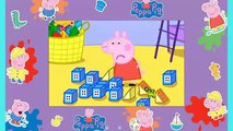 Peppa Pig Pull Along Wobbily Train Nickelodeon Weebles Wobbly