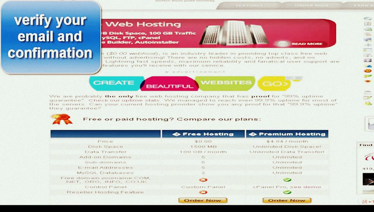 Free Website Builder,Free Free Domain Hosting,Free PHP Hosting web build