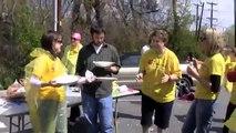 Association Staff Pie Throwing Fundraiser