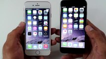 FAKE Rose Gold iPhone 6s vs Apple iPhone 6 - Speed Test + Benchmark