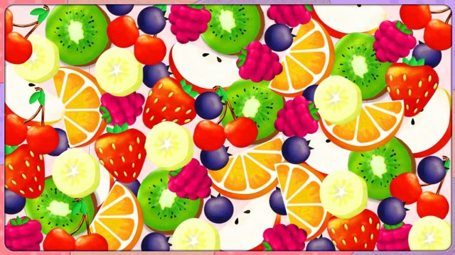 Wallykazam Fruit Frenzy funny game video gameplay full English 4Kids