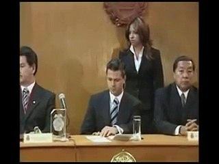 """""""Nombramiento; Presidente Honorario de la SOMEGE"""", Lic. Enrique Peña Nieto."""