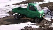 軽トラ リフトアップ クロカン遊び Japanease MIni Truck