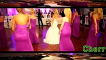 Surprise Bride And Bridesmaids Wedding Guests In the event break dance funny