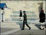 ATHENES relève de la garde au palais Royal