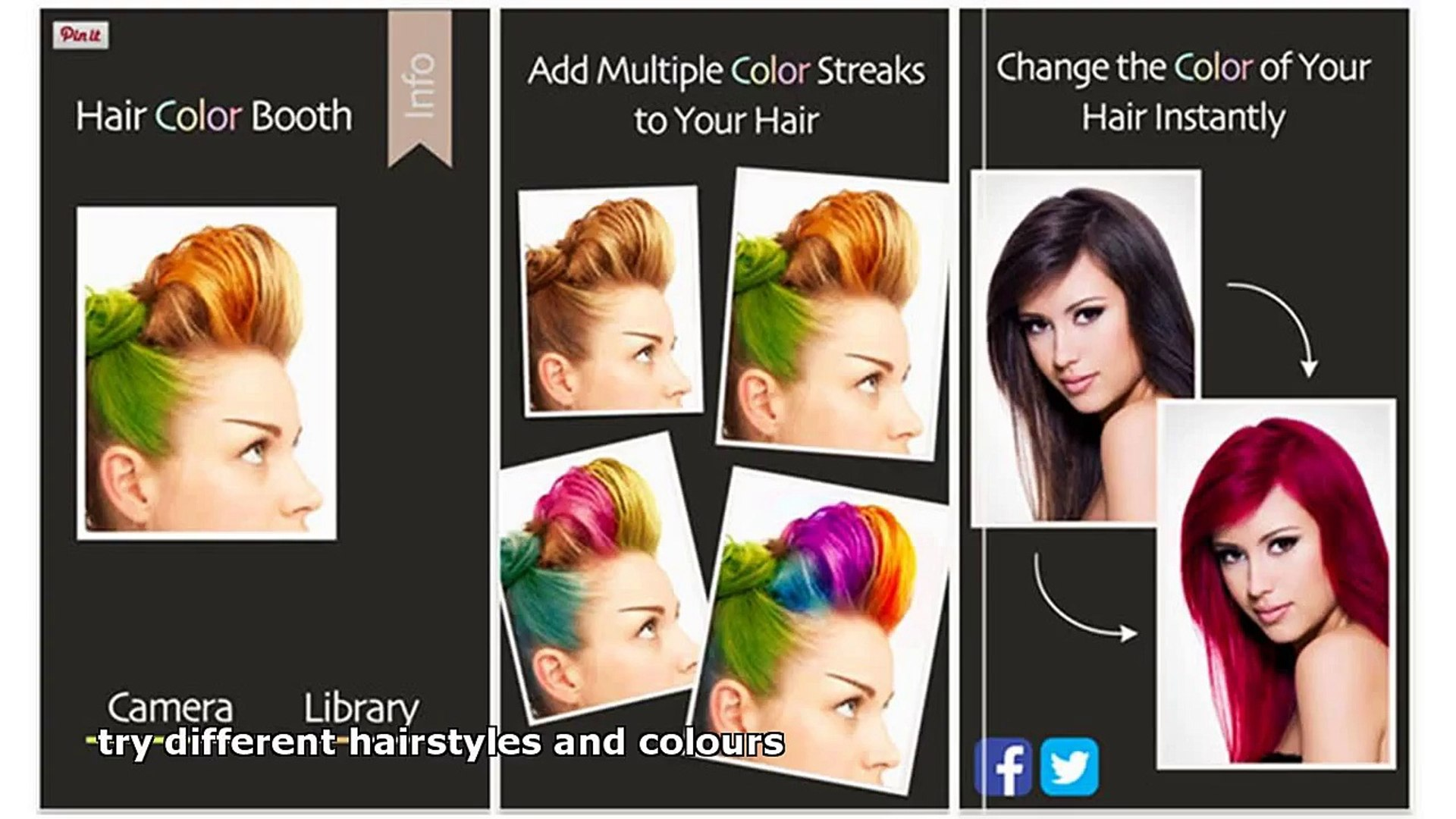 Try Different Hairstyles And Colours Video Dailymotion