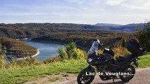 Balade moto : de St-Amour à St-Claude (19 octobre 2014)