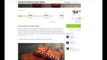 Wasteland Oddities Leather Zippos: Zippo Lighter Fans Need Only Apply!