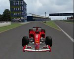 Shanghai Street F1 2004 formula 1 nuovo first lap on Mod Circuit track circuito tracks Mod uno year