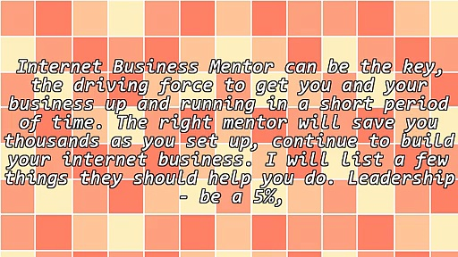 Finding The Right Business Mentor For Your MLM Business