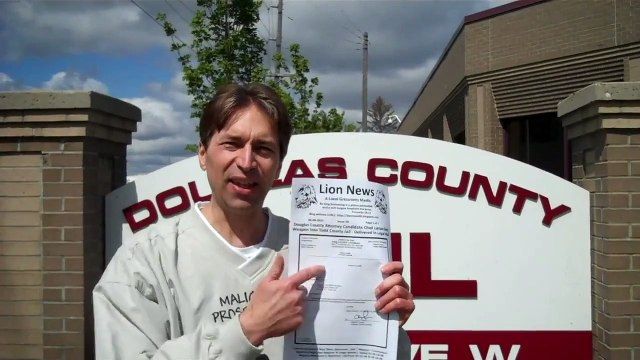 Lion News: Nemmers Kicked Out Of Lawless Douglas County Jail - HowTo Vid!