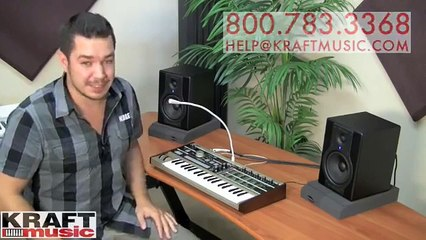 Kraft Music - Korg microKORG Demo with Rich Formidoni