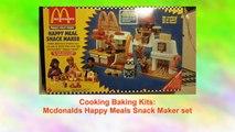 Mcdonalds Happy Meals Snack Maker set