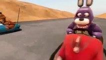 SFM FNAF Bonnie Learns to Drive! Five Nights at Freddy