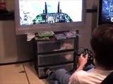 Ace Combat 6  in the Gyroxus Full-Motion Flight Simulator
