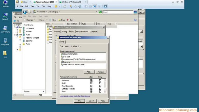 Windows Server 2008 - How to install Office 2003 by using Deploy Software