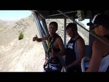 tito nevis bungee jump in new zealand - 134 meters or 8 secunds free fall