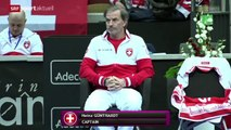 Fed Cup: Sweden - Switzerland. Game 3: Timea Bacsinszky - Johanna Larsson