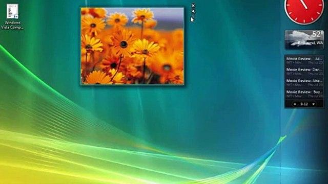 Windows Vista - Using the Windows Sidebar and Gadgets