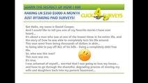 Get Cash for Surveys Review | Get Paid to Take Surveys