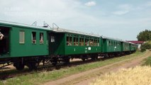 Parní lokomotiva 423.094 (Velký bejček) - Muzejní železnice Kolešovka 2015