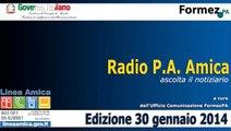 Radio PA Amica 30 gennaio 2015