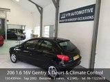 Peugeot 206 1.6 16V Gentry 5-Deurs & Climate Control