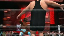 Air Boom vs Big Show and Kane - Tag Team Match - WWE Smackdown vs. Raw 2011