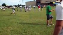 Football Quarterback Prank   McGuinness OK High School | football prank