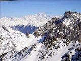 Ski Alpes Meribel Snowboard Jumps