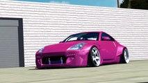 rFactor | Nissan 350Z Rocketbunny raw drifting