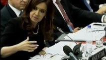 14 de JUN. Reclamo ante la ONU por soberanía de Malvinas. Cristina Férnandez