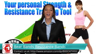 Bear Bands Resistance Bands Excellent 5 Star Review by Mari -.
