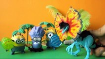 Dinosaur Toys Videos Toy Dinosaur Videos Toy Dinosaurs for Kids with Minions Toys! Minion Toy Video