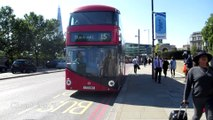 London Buses Route 15 Stagecoach New Routemaster LT393