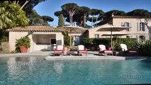 Villa in St Tropez, Full Motion Video Tour / Le charme d'une villa provençale à Saint-Tropez