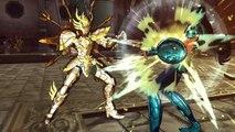 Saint Seiya Soldiers' Soul - Shiryu vs. Dohko