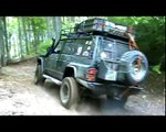 Romania 2009  Canyoning NISSAN PATROL GR offroad-extreme