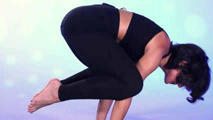 How to 'Pop Up' into Crow Pose (Bakasana), Yoga