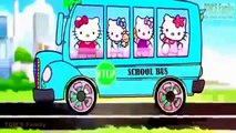 Wheels On The Bus - Blue Bus - Nursery Rhymes Songs For Childrens - Kids Songs English - Part 5